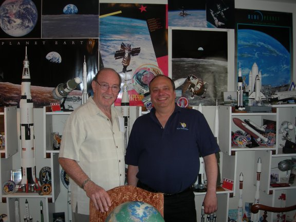Dr. Edgar Mitchell visits